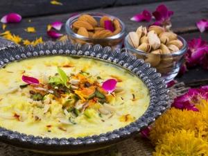 Raksha Bandhan Recipe Kesar Rabdi Recipe
