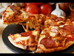Chicken Pizza Recipe Christmas