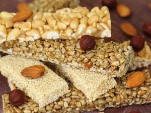 Almond Til Chikki Recipe Winters