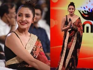 Anushka Sharma Slaying Beautiful Sabyasachi Saree