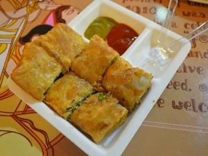 Egg Chicken Mughlai Paratha