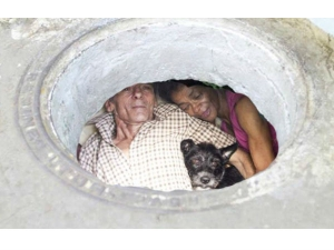 Couple Lives A Sewer Since 22 Years