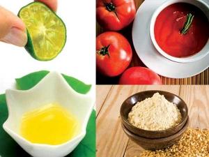 Tomato Lemon Recipe To Cure Dark Circles Naturally