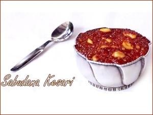 Video Sabudana Kesari Sweet Recipe Navratri