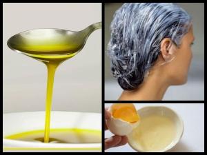 रूखे बालों को मुलायम और चमकदर बनाने के लिये हेयर मास्क