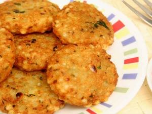 नवरात्री स्पेशल:  कुरकुरे और स्वादिष्ट साबुदाना के वडे