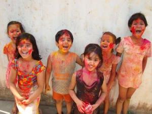 Safety Tips Children Holi Aid