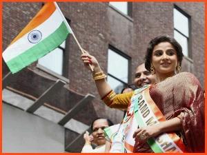 Vidya Balan Stuns At India Day Parade