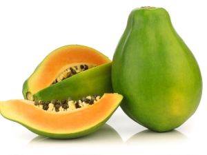 Health Benefits Unripe Green Papayas