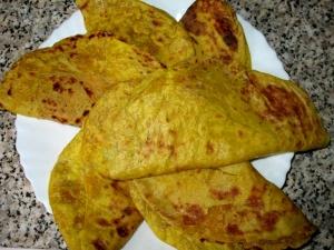 Coconut Puran Poli Ugadi Sweet Recipe
