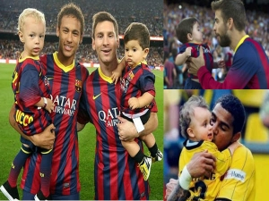 Footballers With Their Sons Father S Day 14 Spl