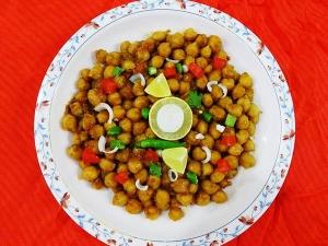 Khatta Meetha Chana Chaat Ramadan