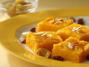 Badam Pista Barfi Recipe