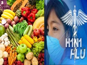 Healthy Diet Can Help You Fight Swine Flu