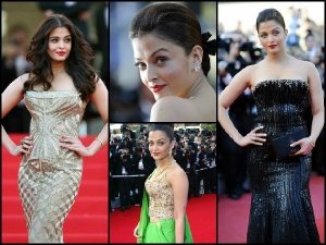 Appearances Aishwarya Rai At Cannes