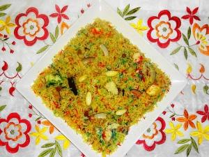 Zarda Rice Recipe Hindi