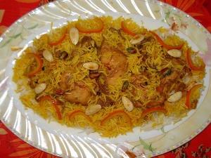Afghani Zarda Pulao Delicacy From Kabul