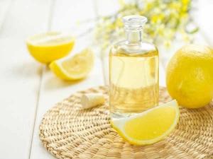 Get Rid Dandruff Using Lemon