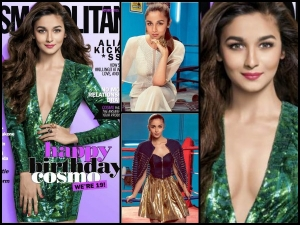 Alia Bhatt On The Cover Of Cosmopolitan