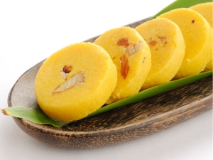 Besan Khoya Burfi Recipe