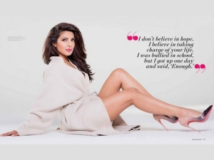 Priyanka Chopra On The Cover New You Winter Edition In Hindi