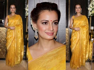Dia Mirza S Connection With Ethnic Attires In Hindi