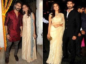The Newlyweds Shahid Kapoor Mira Rajput Ethinc Avatar