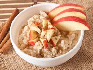 Broken Wheat Apple Porridge Recipe