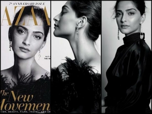 Sonam Kapoor On The Cover Harper S Bazaar