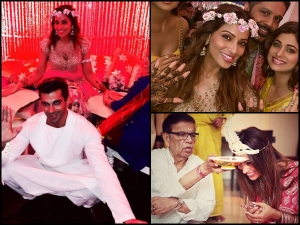 Bipasha Basu Karan Singh Grover Pre Wedding Fashion Take A Look