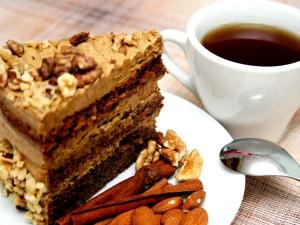 Microwave Coffee Walnut Cake Recipe