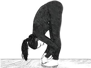 Padangusthasana Big Toe Pose Cure Menstrual Disorder