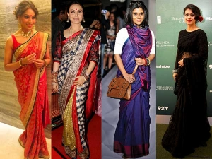 Saree Colours That Dusky Complexion Women