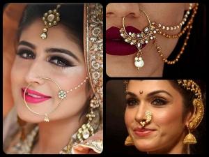Types Bridal Naths Flaunt At Your Wedding