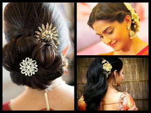Awesome Saree Hairstyles That You Have Never Seen Before