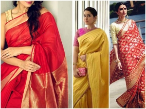 5 Saree Combinations You Can Try Ganesh Chaturthi Pooja