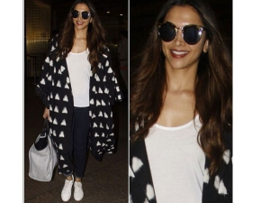 Deepika Padukone Spotted At The Airport With Her Chanel Bag