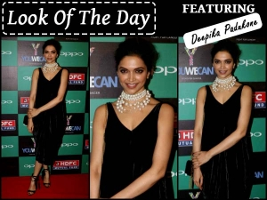 Look Of The Day Deepika Padukone In Sabyasachi