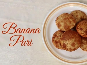 Video Tasty Sweet Banana Puri Recipe