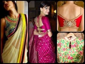 Hot Blouse Patterns You Got Try This Diwali Season