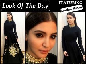 Anushka Sharma Showing Off Her Brand New Festive Look