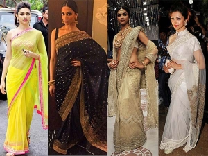 Deepika Padukone Sarees That Every Bride To Be Needs