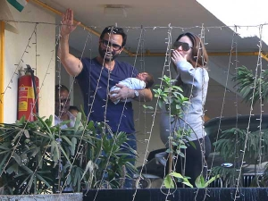 New Mommy Kareena Kapoor Returns Home With The Baby In A Casual Sweatshirt