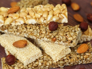 Almond Til Chikki Recipe Winters