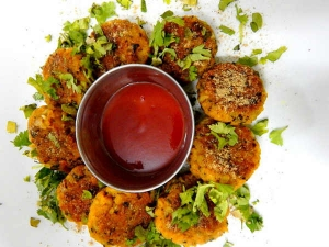 Coriander Cutlets Recipe