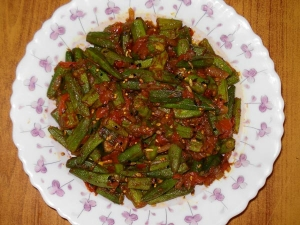 How Make Achari Dahiwali Bhindi