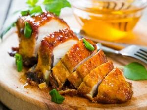 Healthy Weight Loss Recipe Honey Orange Glazed Chicken