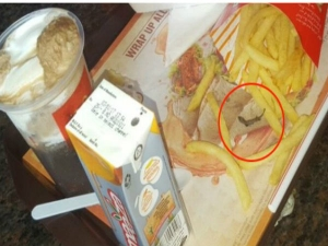 Customer Finds Dead Lizard Mcdonald S French Fries