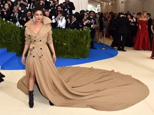 Priyanka Chopra At The Met Gala Awards