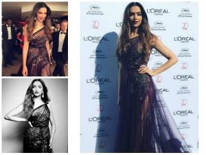 Deepika Padukone Red Carpet Look At Festival De Cannes